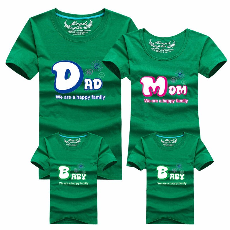 Happy Family Matching T-Shirts Set