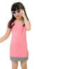 Pink, Dress for Girls