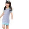 Gray, Dress for Girls