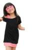 Black, Dress for Girls